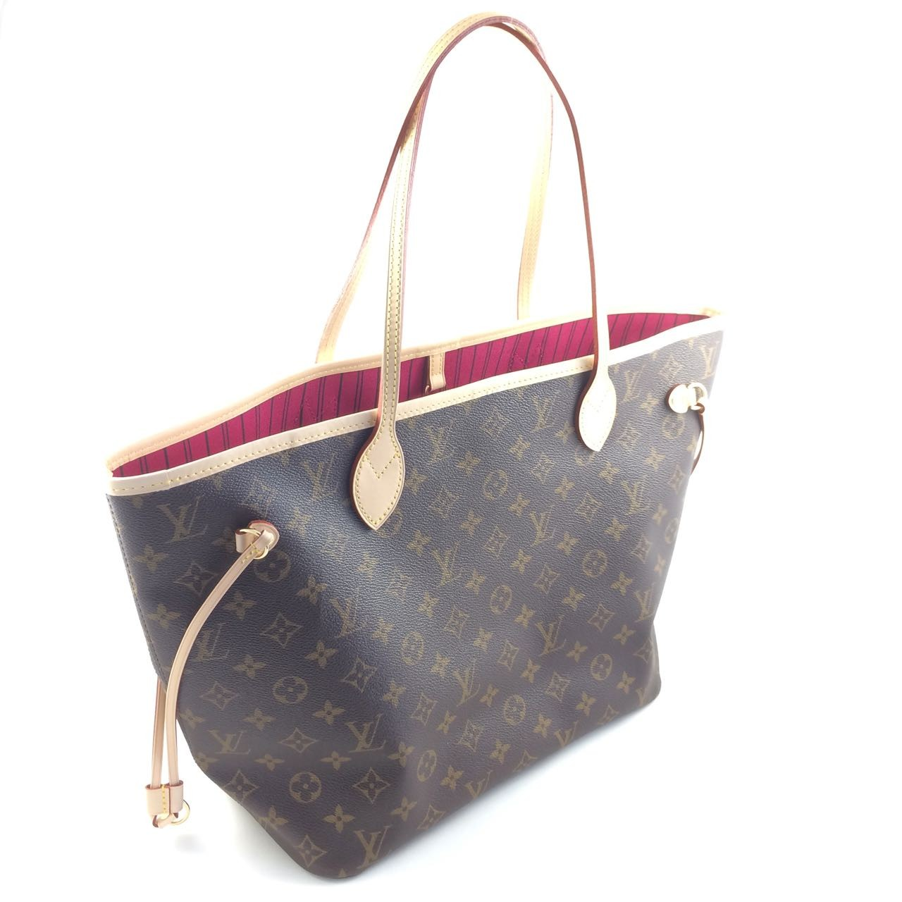 332119020865 LOUIS VUITTON M41177 NEVERFULL MEDIUM TOTE SHOPPING BAG - Designer