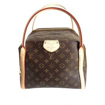LOUIS VUITTON M41070 MARAIS MM CLASSIC MONOGRAM BOWLING HANDBAG