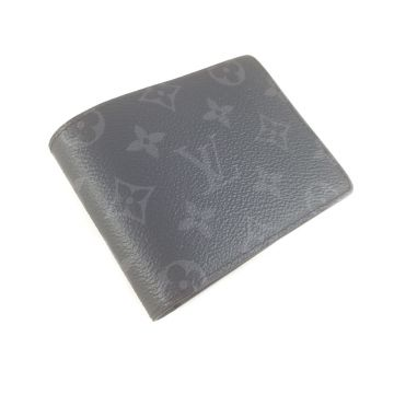 LOUIS VUITTON M61695 MONOGRAM ECLIPSE CANVAS SHORT WALLET