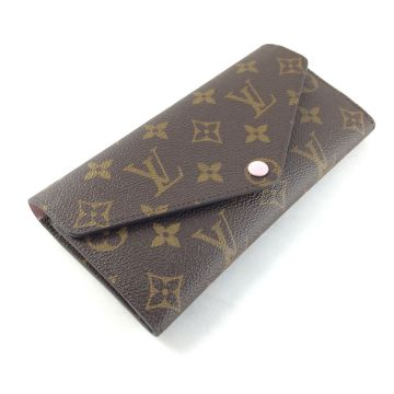 LOUIS VUITTON M41739 JOSEPHINE MONOGRAM CANVAS LONG WALLET