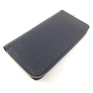 LOUIS VUITTON M61857 BLACK EPI ZIPPY LONG WALLET
