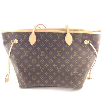 LOUIS VUITTON M40990 NEVERFULL GM MONOGRAM CANVAS LARGE SHOPPER HANDBAG